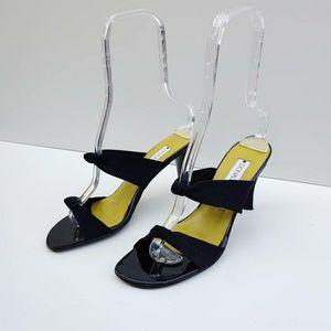Donald J. Pliner Mesh Slide Heels Size 8.5